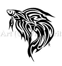 trend tribal fish tattoos designs koi fish tattoos this one