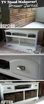 tv stands my entertainment center turned into storage for dress