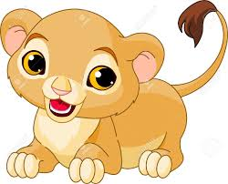 lion cub clipart u2013 101 clip art