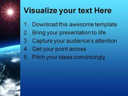 science powerpoint template 0810