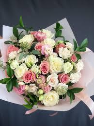 bouquet flowers 23 bouquet white pink large in hallandale fl k k flowers