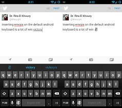 keyboard emojis for android how to use emojis on your android device android appstorm