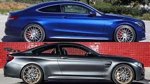 2017 mercedes amg c63 s coupe vs 2016 bmw m4 gts youtube
