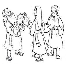 simeon jesus mary joseph luke 2 22 35 bible nt