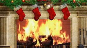 Fireplace With Music by Urban Yule Log Your Christmas Fireplace With Contemporary