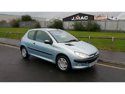 used peugot used peugeot 206 hatchback 1 4 hdi lx 3dr a c in stockton on