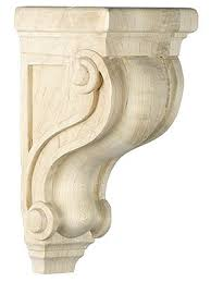 wooden scrolls for cabinets scroll design corbel in 5 sizes with choice of wood scroll design