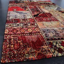 designer teppich teppich modern designer teppich patchwork kilim design multicolour