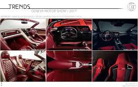 renault trezor interior 2017 geneva motor show color trim trends