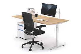 Stand Or Sit Desk by Sit Stand Range Stand Up Electric Height Adj Desk White Frame 1200l