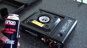 portable table top butane stove portable single burner butane cooking stove youtube