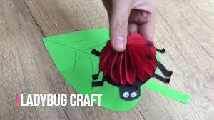 ladybug diy for kids simple and cute craft to entertain your