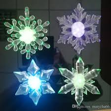mixed 4 design snowflake 2017 sales factory low price led big