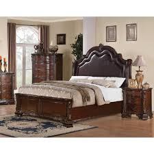 Upholstered Headboard Bedroom Sets King Bed With Upholstered Headboard