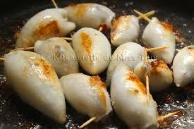comment cuisiner le calamar calamars farcis à la vietnamienne mực nhồi thịt la kitchenette