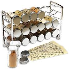 kitchen inspiring spice jars for your spice ideas saintlukebc org spice rack stand holder organizer with 18 spice