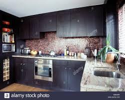 Kitchen Tiled Splashback Designs by Tiled Kitchen Splashback Stock Photos U0026 Tiled Kitchen Splashback
