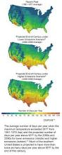 United States Climate Map by Climate Change Impacts In The United States Maps Charts Tables