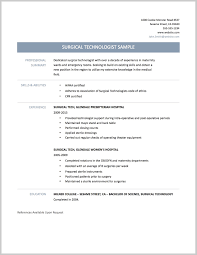 tech resume template best surgical tech resume sle 16012 resume sle ideas