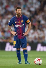 Lionel Messi Leg Lionel Messi Photos Madrid V Fc Barcelona Supercopa De