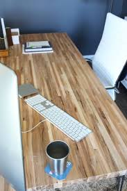 butcher block table top home depot diy butcher block desk modish and main attractive diy desk home