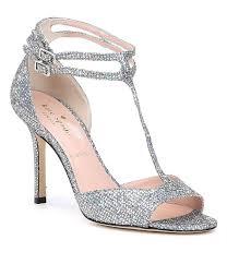 kate spade new york ines glitter fabric dress sandals dillards
