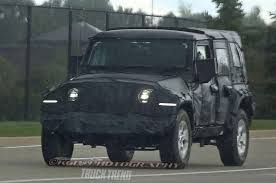 jeep silhouette 2019 jeep wrangler pickup and wagoneer light signatures snapped at
