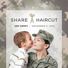 hair cuttery u0027s share a haircut program
