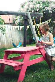 Diy Picnic Table Plans Free by How To Build A Picnic Table With Attached Benches Picnic Tables