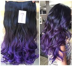 ombre extensions thick one half ombre clip in hair extensions wavy