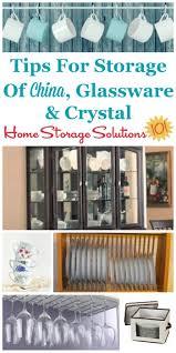 storage for china glassware u0026 crystal how to store u0026 display it