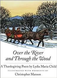 the river and through the wood a thanksgiving poem lydia