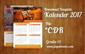 desain kalender meja keren download gratis template kalender 2017 terbaru jago desain