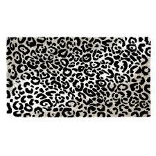 Leopard Bathroom Rugs Habidecor Leopard Bath Rugs Black 990 Flandb