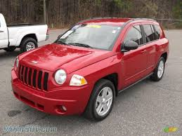 compass jeep 2010 2010 jeep compass sport 4x4 in inferno red crystal pearl 557448