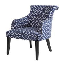 Grey And White Accent Chairs Amazon Com Alexis Rollback Accent Chair Navy See Below Kitchen