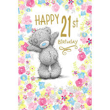 21st birthday me to you bear cards ebay