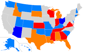 Picture Of The Map Of The United States by Voter Id Laws In The United States Wikipedia