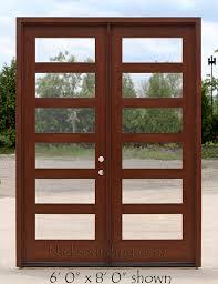 Shaker Style Exterior Doors Craftsman Style Exterior Doors Clear Glass