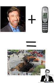 Funny Nokia Memes - chuck norris and nokia 3210 by matte094 meme center