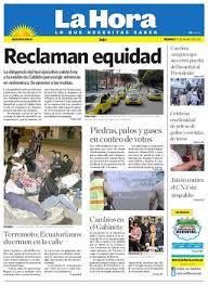 Movimientos Encadenados Mayo 2011 - diario la hora loja 13 de mayo 2011 by diario la hora ecuador issuu