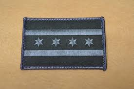 Chicagos Flag Chicago City Flag Patch Bdu Chicago Fop