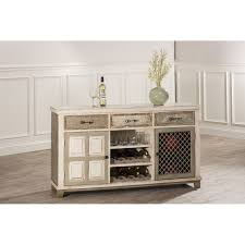 console table with wine storage hillsdale furniture 5808 866 larose console table in handpainted