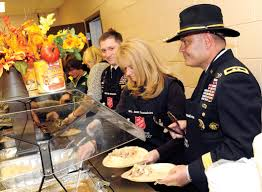 salvation army thanksgiving volunteer carson shows thanks with local holiday meal u2013 fort carson mountaineer