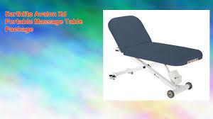 earthlite avalon 30 massage table earthlite avalon xd portable massage table package youtube