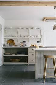 Neutral Colors For Kitchen Walls - stylish open shelving and neutral colours in devol u0027s henley on