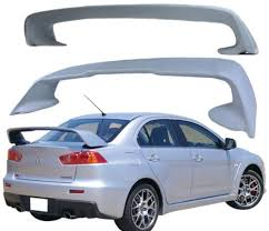 mitsubishi evo spoiler 2008 2012 mitsubishi lancer evo evolution 10 high quality abs trunk