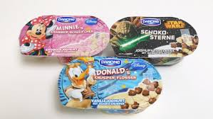 si e social danone disney minnie donald wars danone yogurt food
