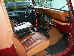 custom jeep interior jeep cj review and photos