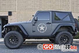 jeep decals distressed military star jeep decal bestvinylwallart